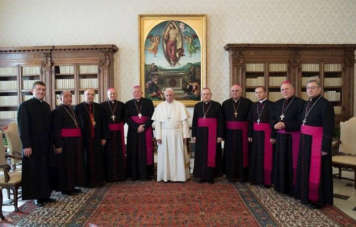 """Rimokatolički i grkokatolički biskupi iz susjednih država u pohodu """"ad limina"""" u Rimu"""