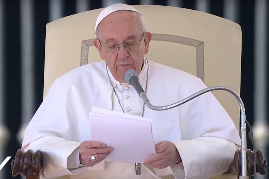 Sveti Otac: 'Kršćanstvo nije toliko naše traženje Boga, nego je to više Božja potraga za nama'