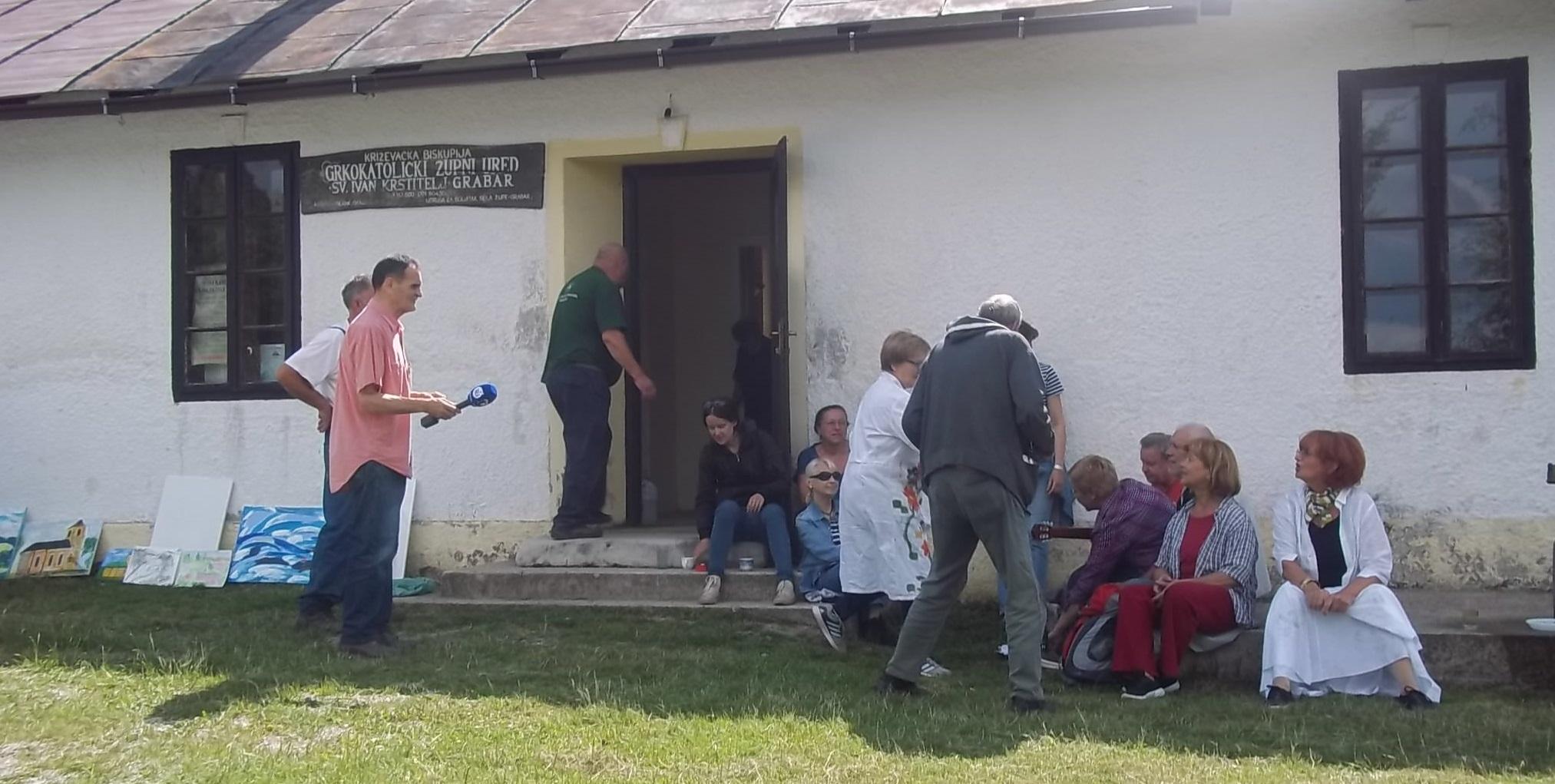 U župi Grabar održana tradicionalna likovna kolonija Matice hrvatske