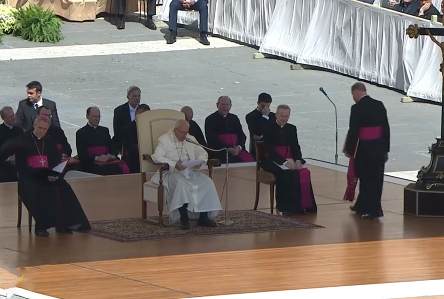 """Papa na Općoj audijenciji: """"Božje očinstvo – izvor naše nade"""""""