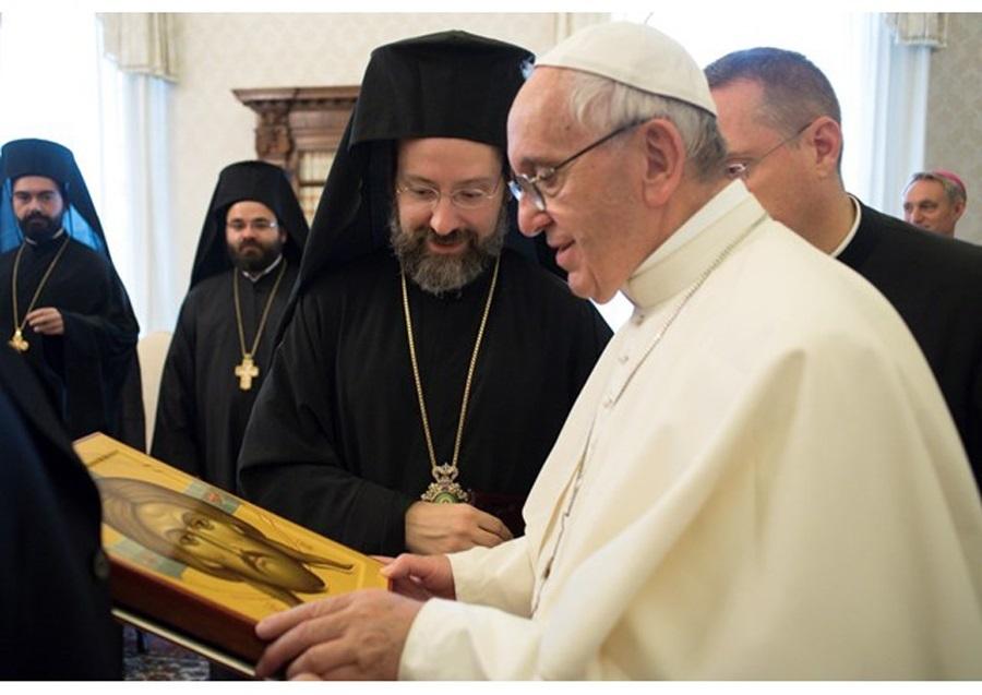 Papa primio izaslanstvo Carigradskoga ekumenskog patrijarhata