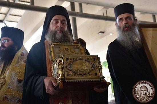 Čudotvorne moći sv. Pantelejmona donesene u Bugarsku