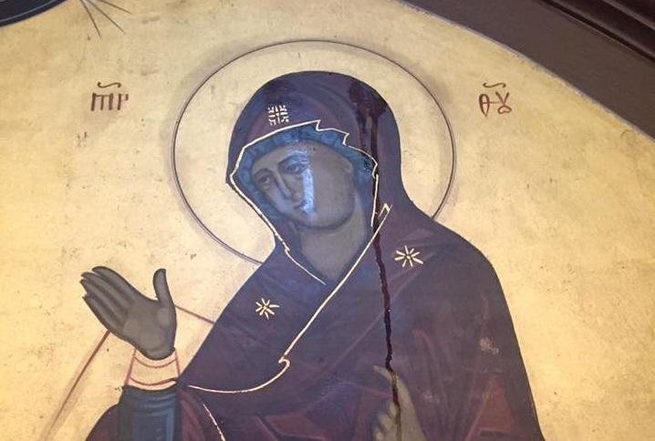 Blagoslov vjernicima – zamirotočila ikona Presvete Bogorodice