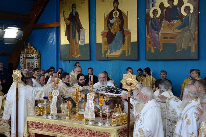 Pravoslavni episkopi služili liturgiju versus populum