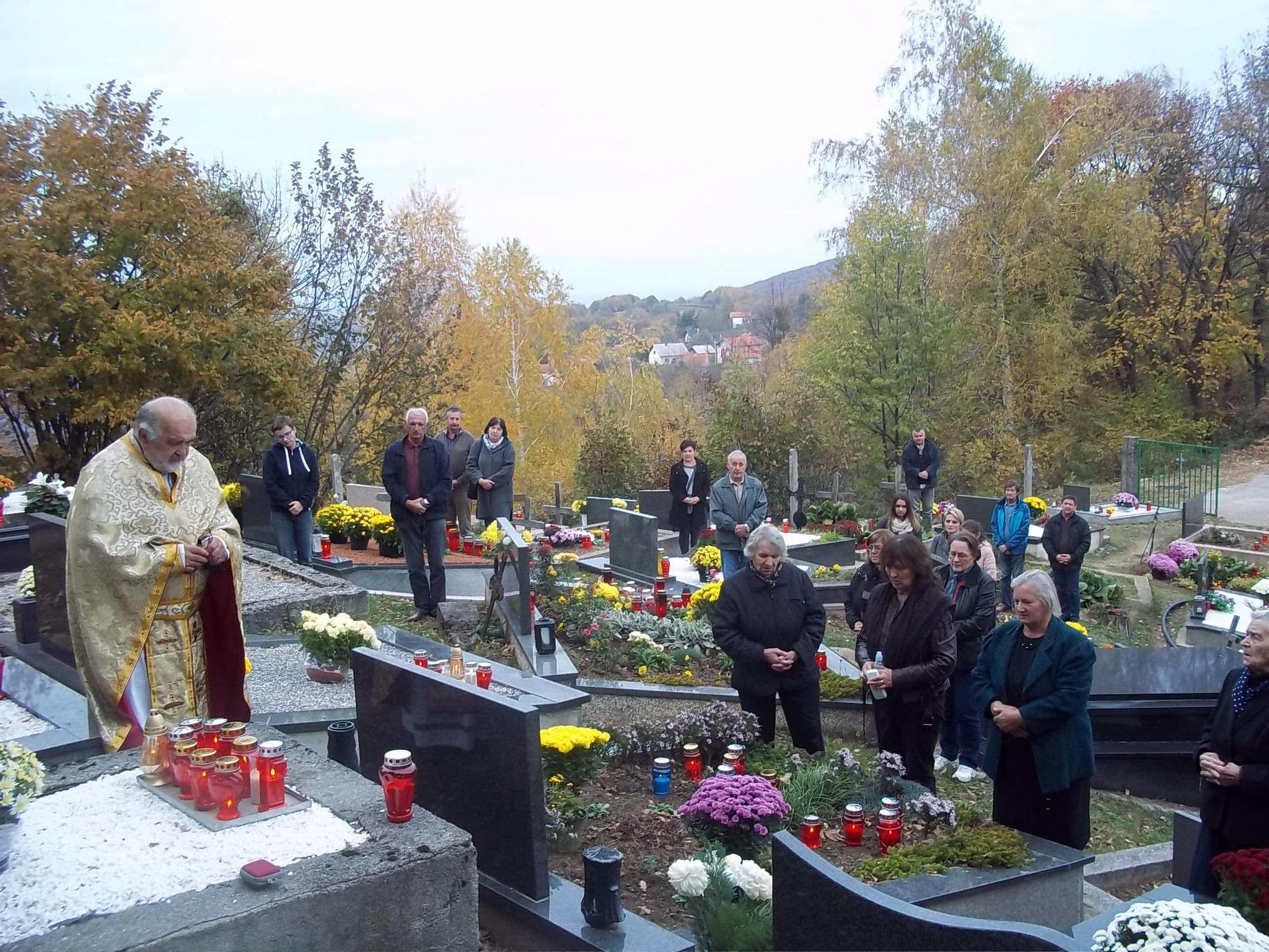 Žumberački svećenici na grobovima svojih pretčasnika
