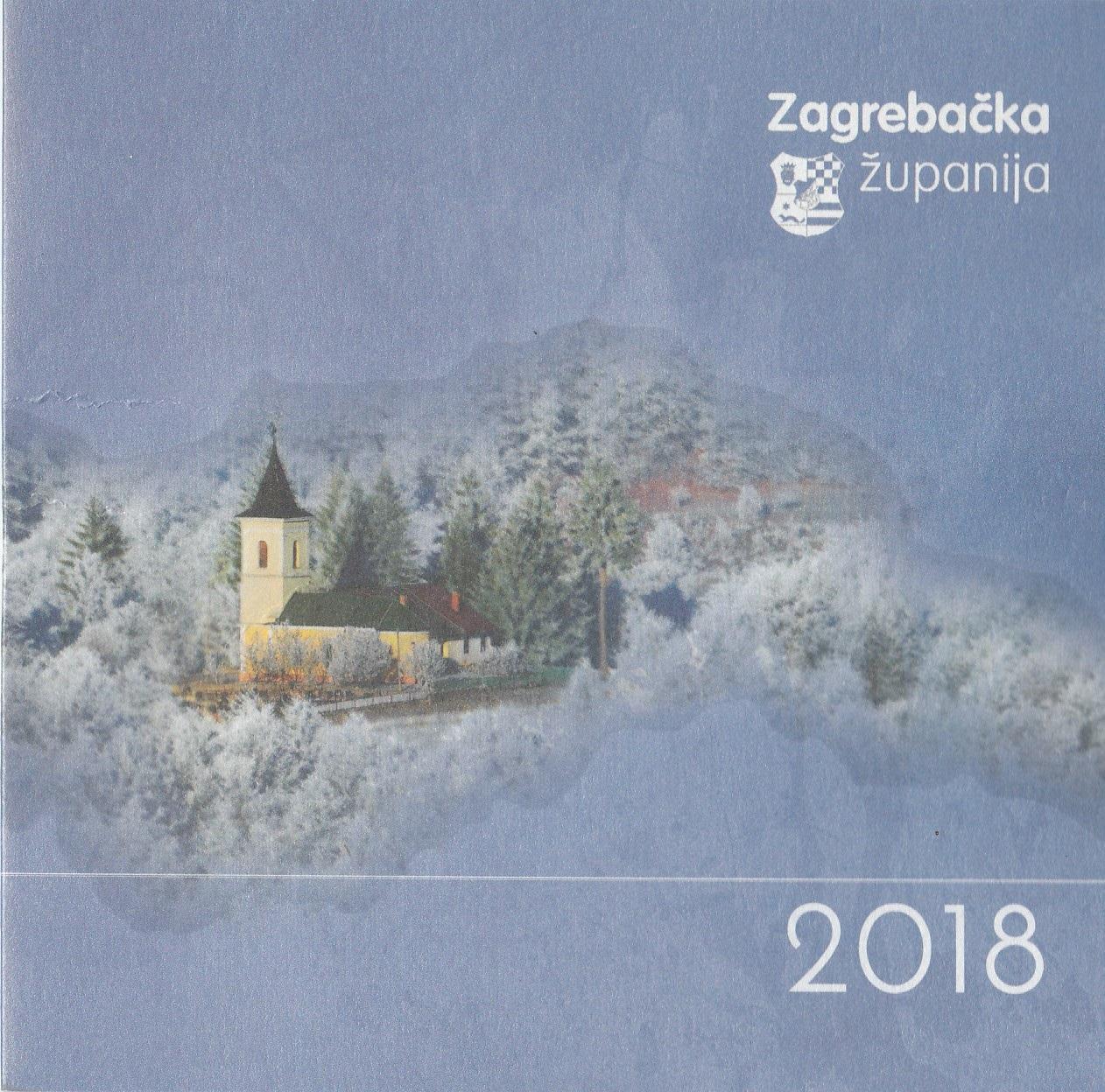 Grabarska župna crkva na službenim čestitkama Zagrebačke županije