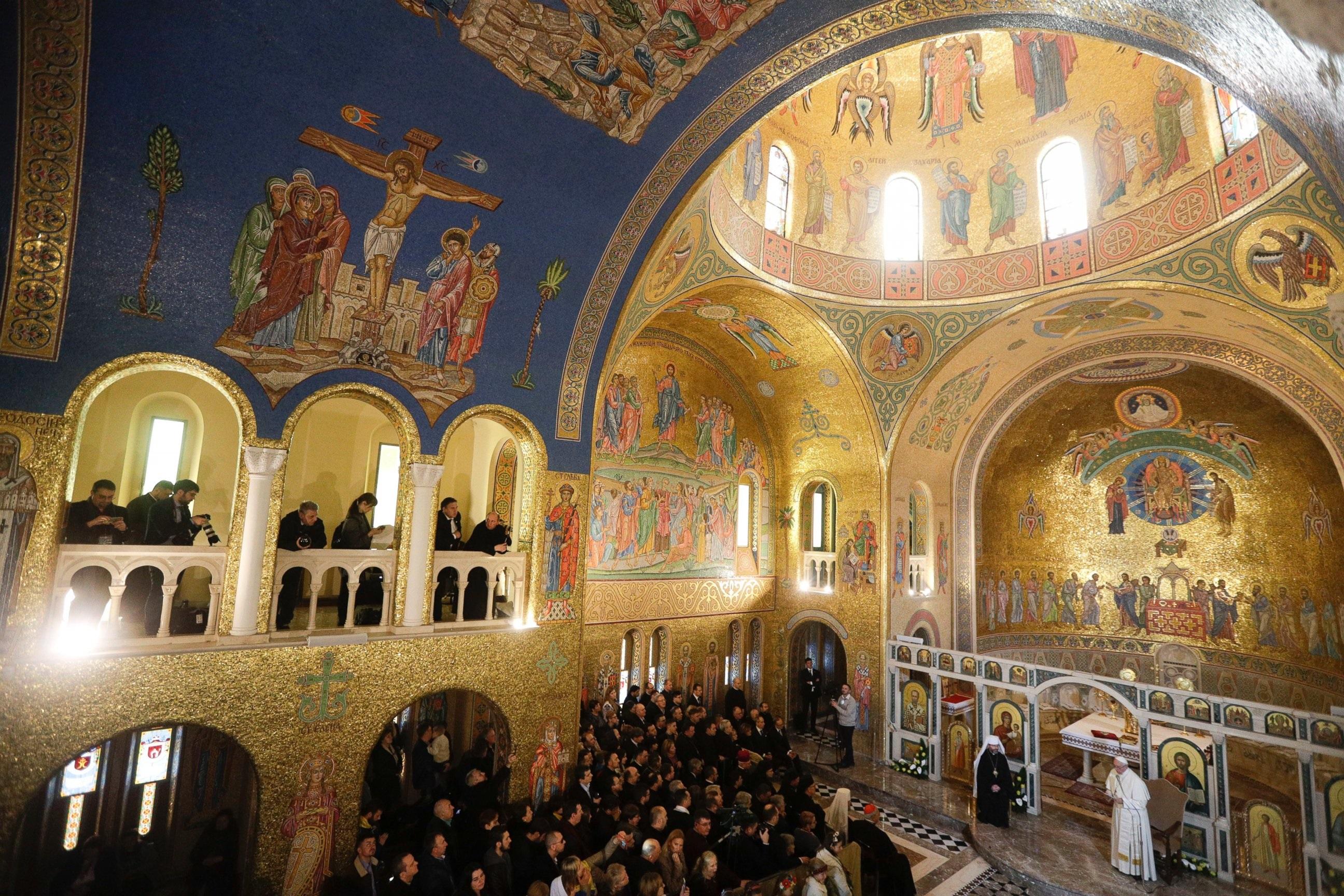 Papa posjetio grkokatoličku župu sv. Sofije u Rimu