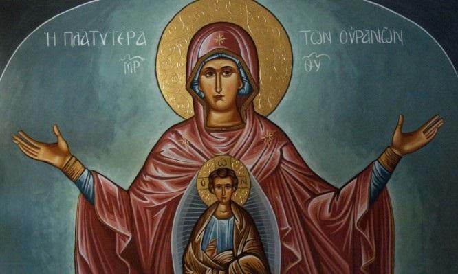 Lik Bogorodice i u Velikom postu zauzima važno mjesto