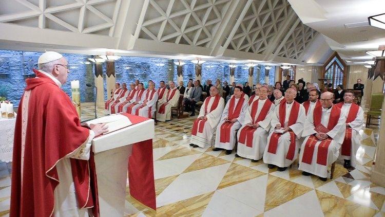 Papa: Prenošenje vjere nije prozelitiranje