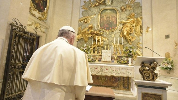Papina pobožnost prema Blaženoj Djevici Mariji