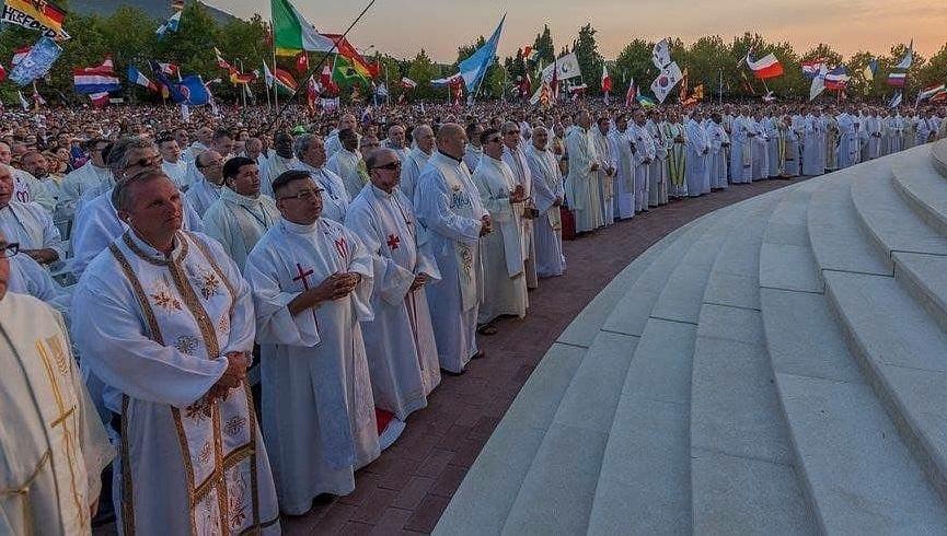 Mnoštvo grkokatolika na Mladifestu u Međugorju