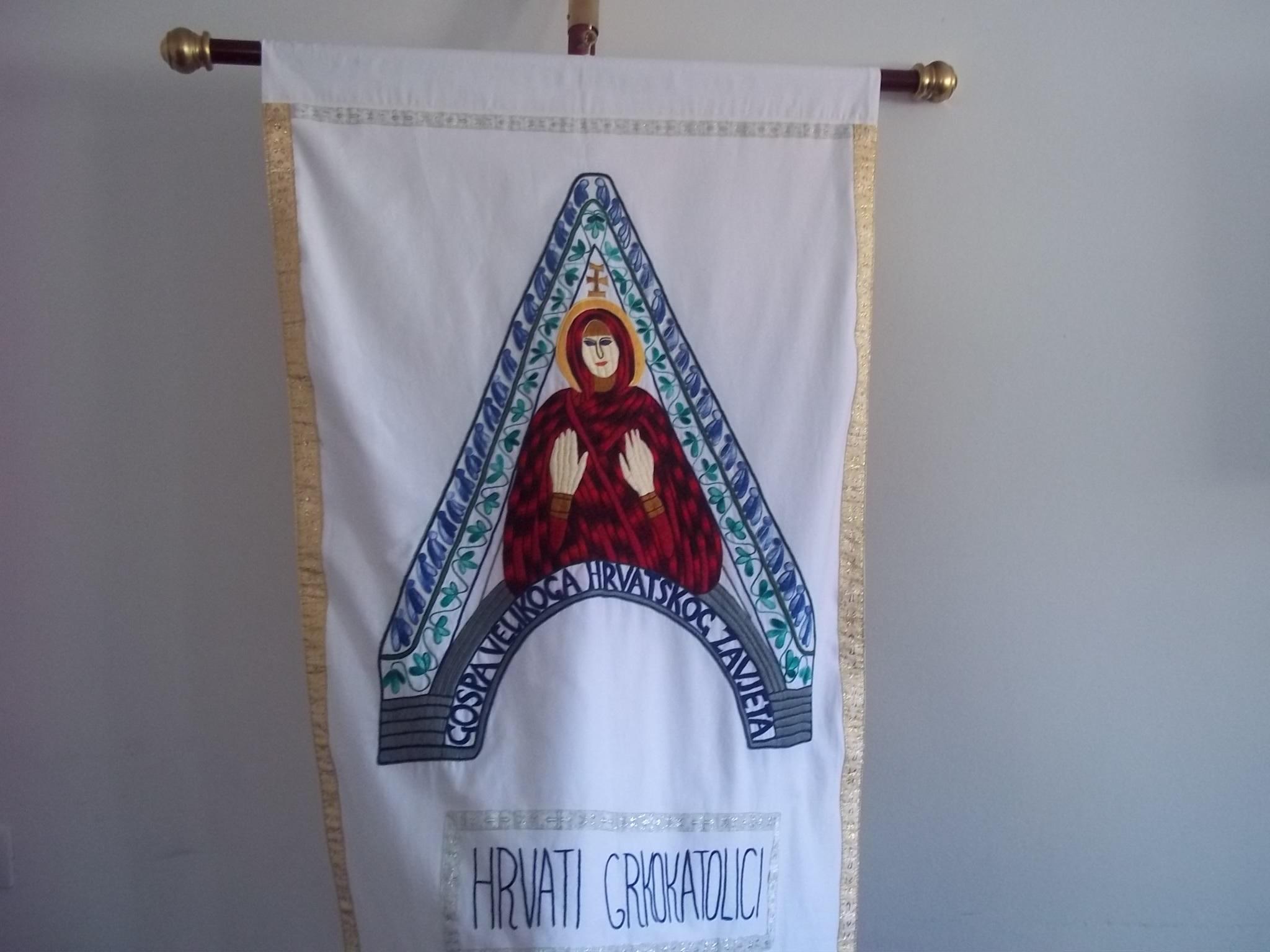 U nedjelju u Gabrovici svečani blagoslov zastave s likom Gospe hrvatskog krsnog zavjeta