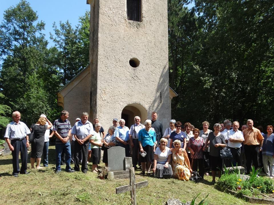 Kapela sv. Ilije u Jezernicama okuplja jednom godišnje