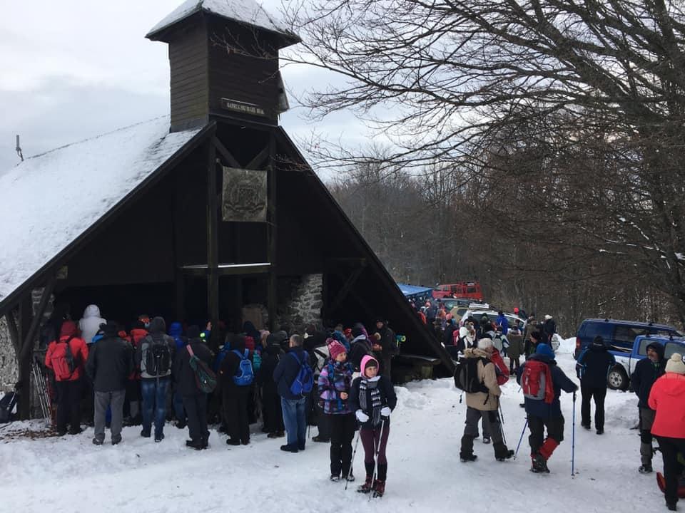 Održano tradicionalno zimsko hodočašće na Svetu Geru