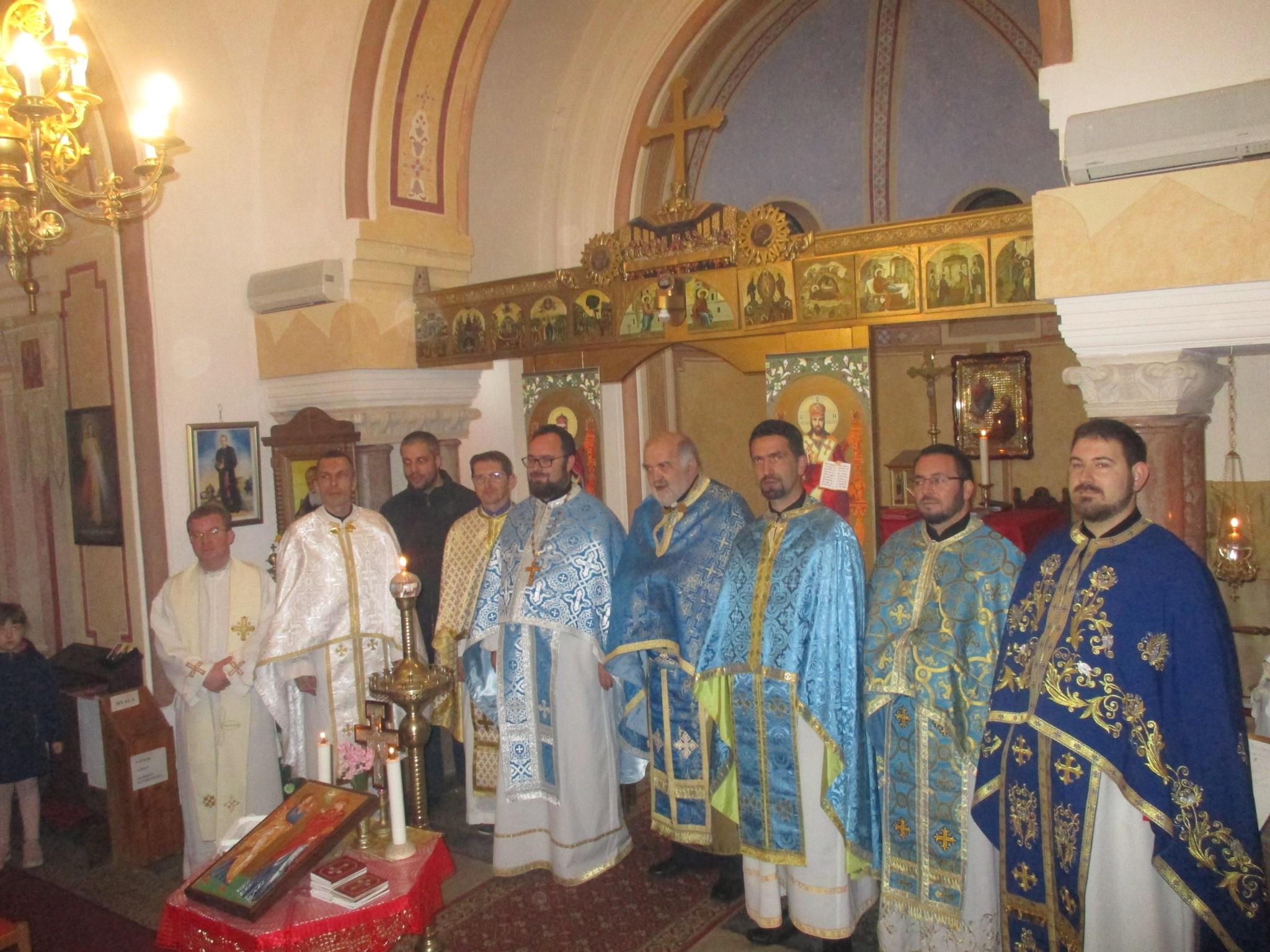 Svečanom liturgijom u Pribiću proslavljen blagdan Blagovijesti