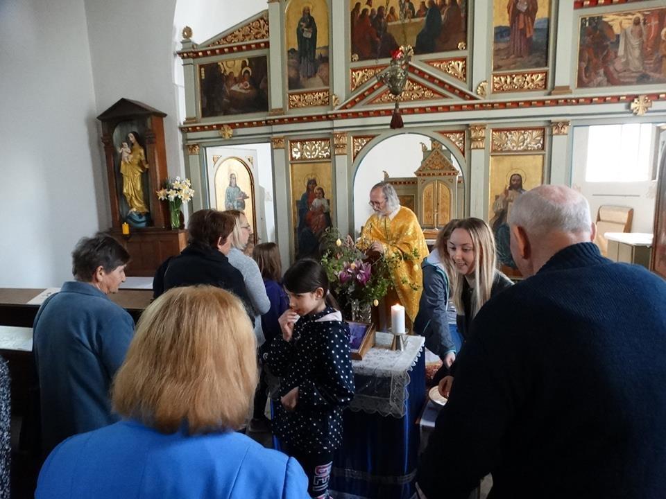Proslava Uskrsa u župi Drage kod Metlike