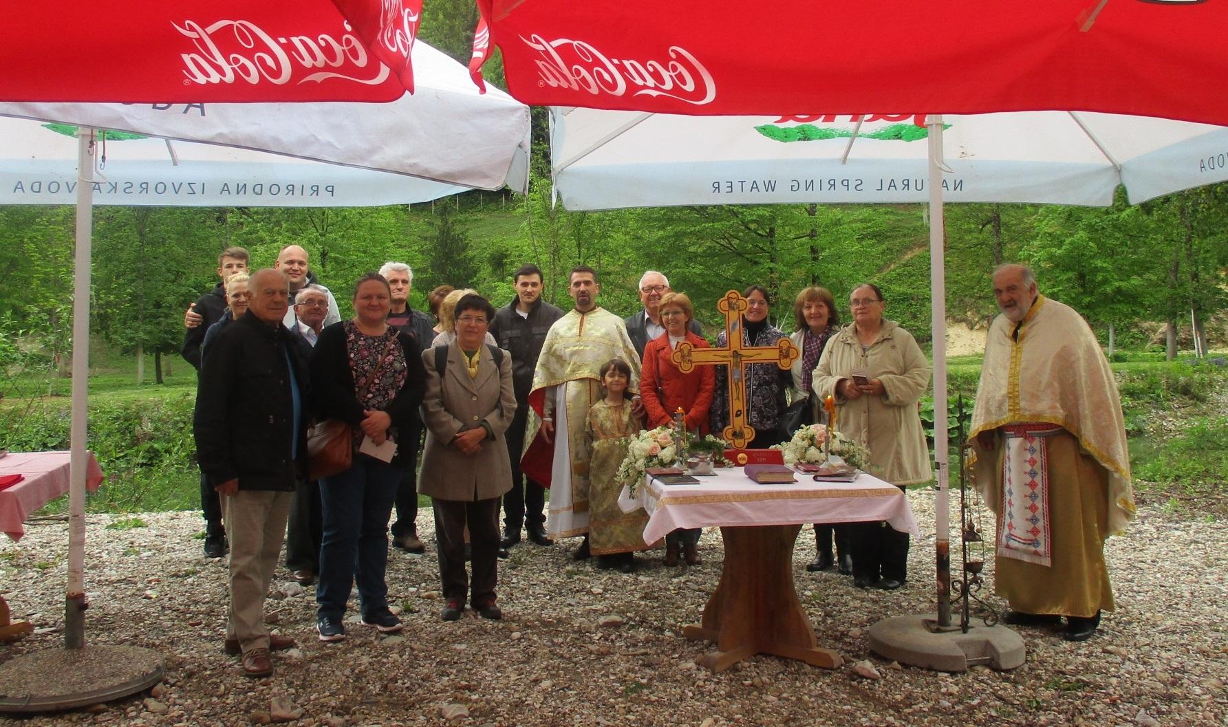 Liturgija za kanonika dr. Tomu Severovića i blagoslov Crkvi darovanog zemljišta u Gabrovici