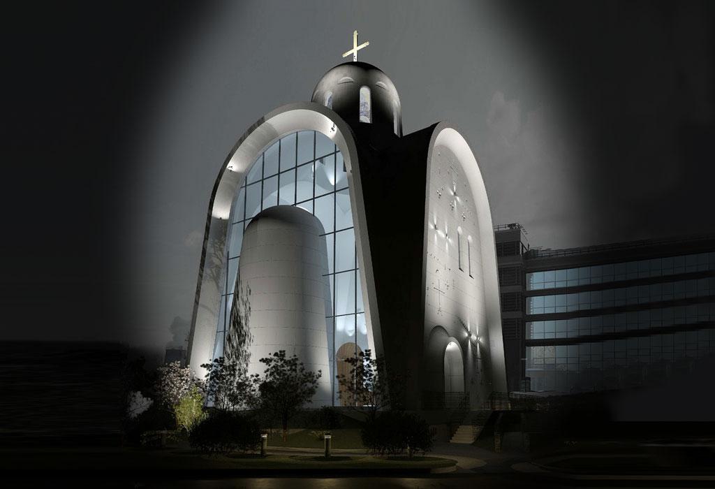 Pravoslavna crkva odobrila gradnju prvog hrama u modernističkom stilu