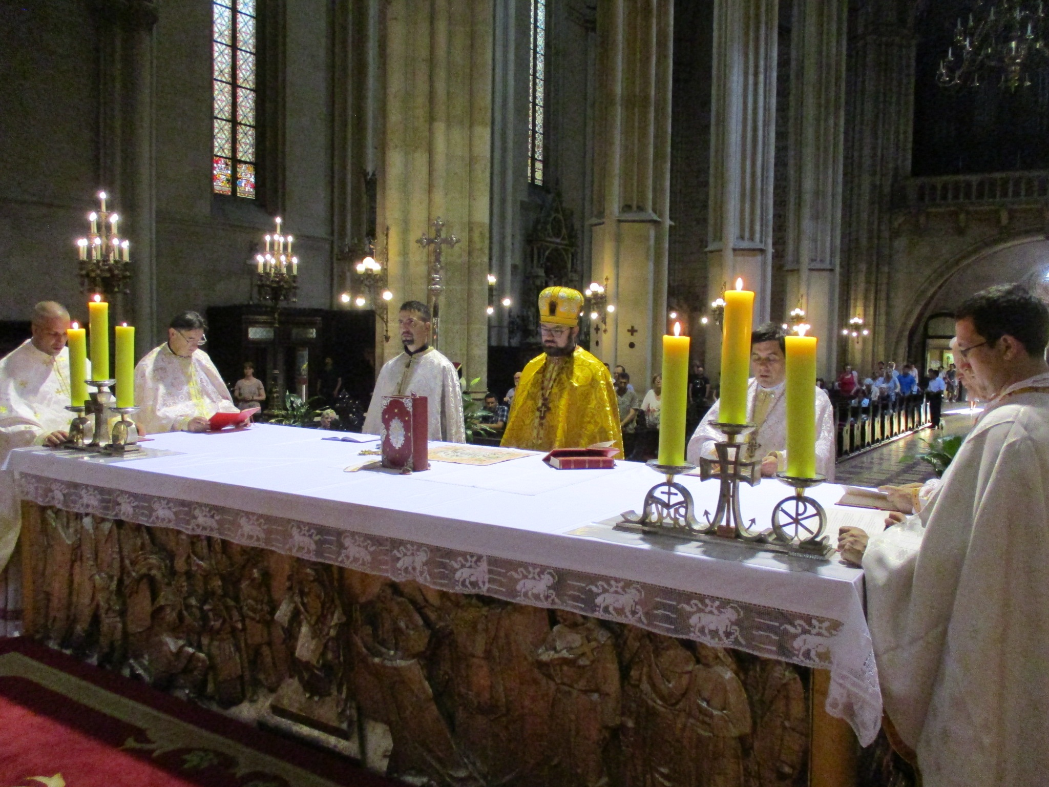 U zagrebačkoj katedrali grkokatoličkom liturgijom proslavljen blagdan sv. Ćirila i Metoda