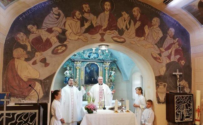 Proslava župnog blagdana u Oštrcu