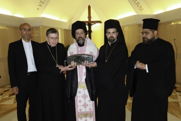 Papa darovao relikvije sv. Petra pravoslavnoj Crkvi