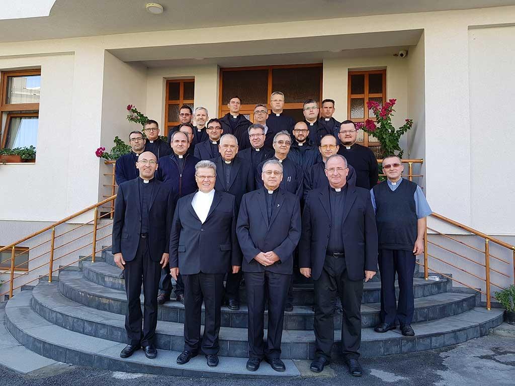 Nadbiskup dr. Đuro Hranić održao duhovne vježbe za grkokatoličke i rimokatoličke svećenike u Makedoniji