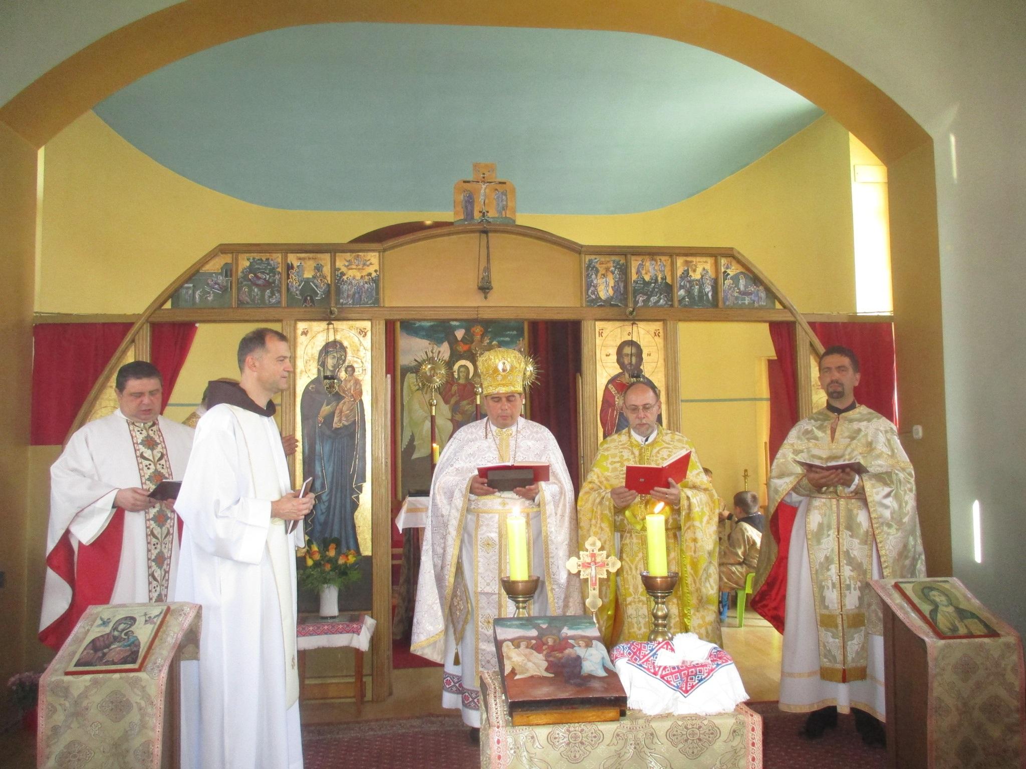Prof. dr. Taras Barševski povodom Abrahamova predvodio liturgijsko slavlje u Samoboru