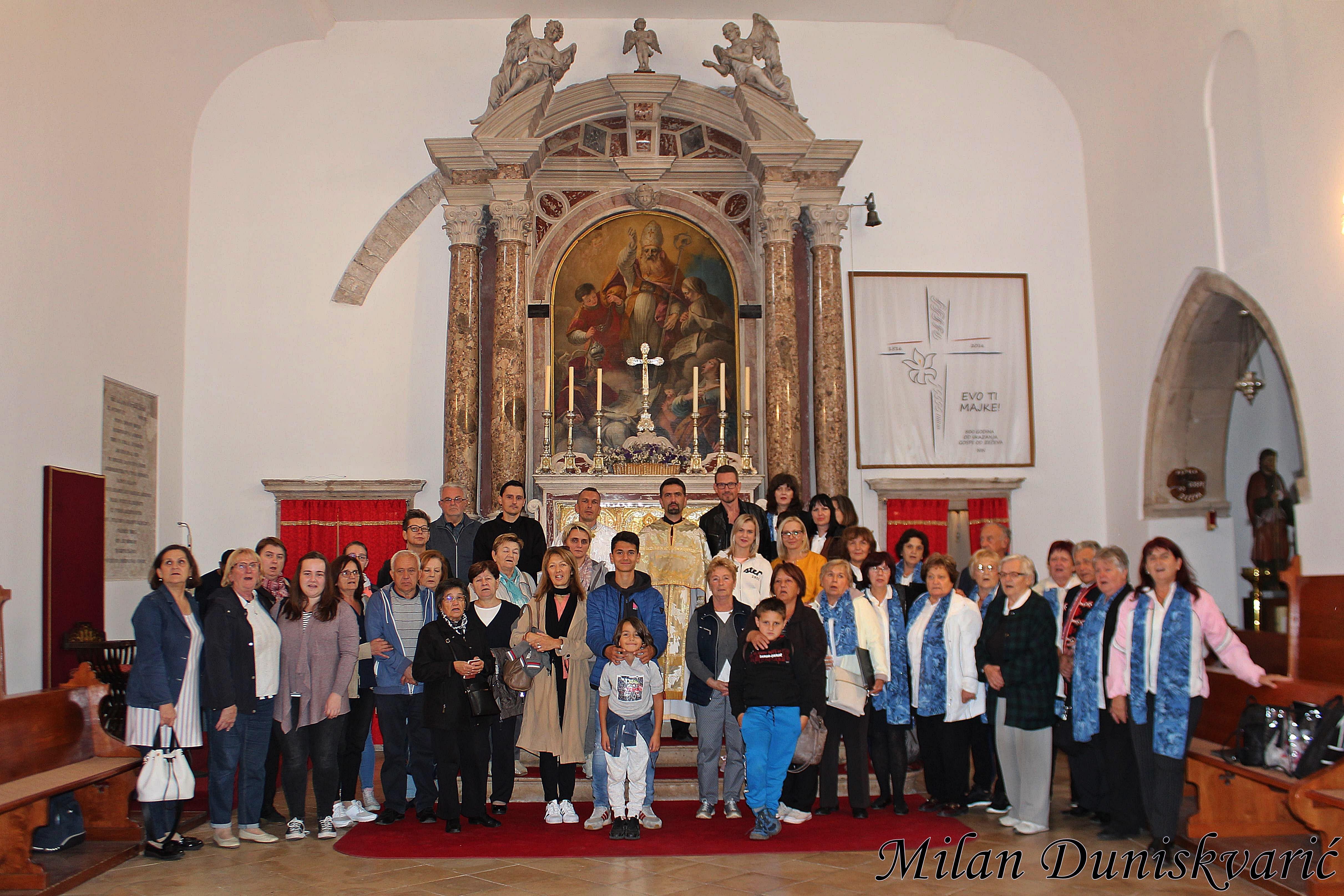 Grkokatolici Hrvati u Ninu svetom liturgijom obilježili spomen na Branimirovu godinu