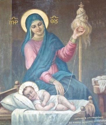 Jedinstvena ikona Bogorodice iz manastira gdje je Sveta obitelj boravila u izbjeglištvu