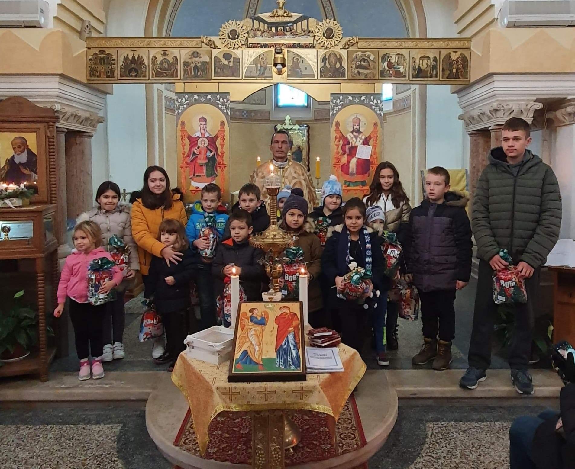 Proslava sv. Nikole u župama Pribić i Mrzlo Polje