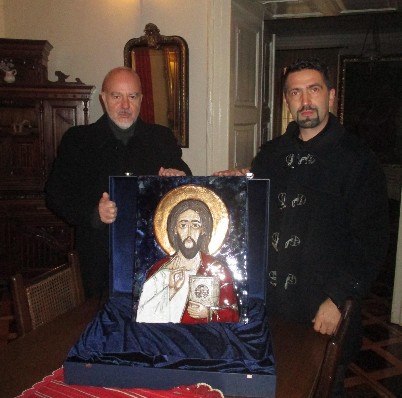 Bivši hrvatski ambasador u Rusiji darovao Žumberačkom vikarijatu iznimno vrijednu ikonu