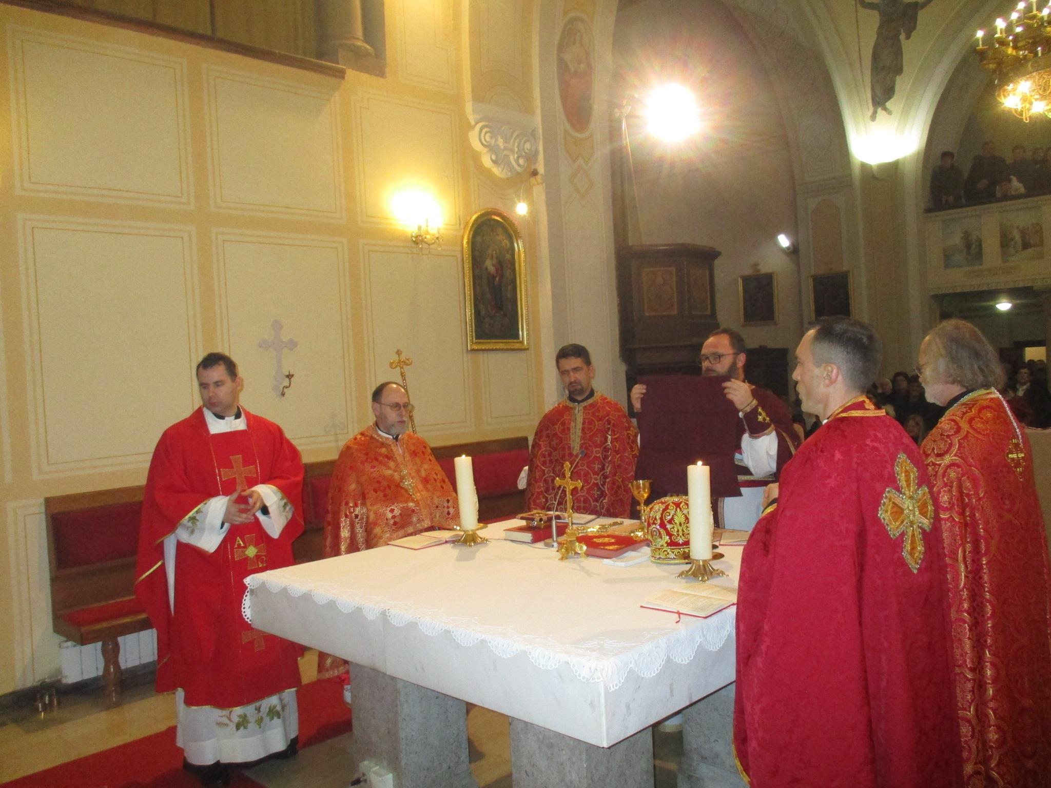 U devetnici priprave za blagdan Stepinćeva u Krašiću služena grkokatolička liturgija