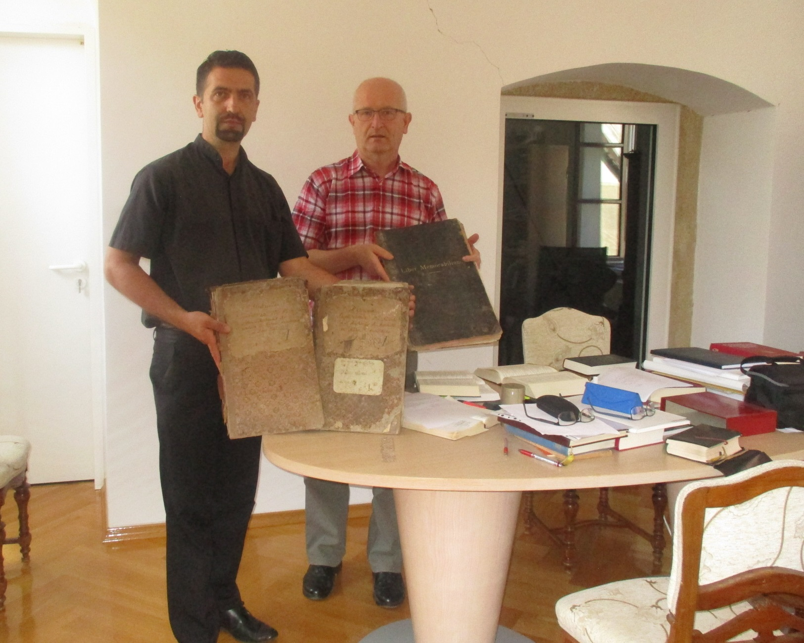 Suradnja Arhiva križevačke eparhije i Nadbiskupijskog arhiva u Zagrebu