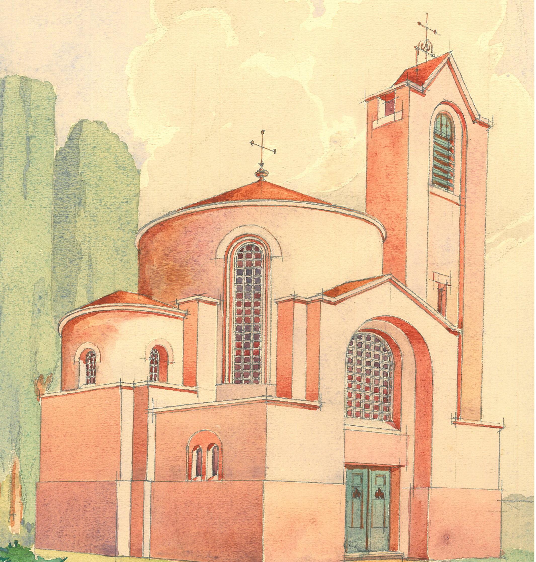 Kako je trebala izgledati grkokatolička kapela u Marči 1942. godine