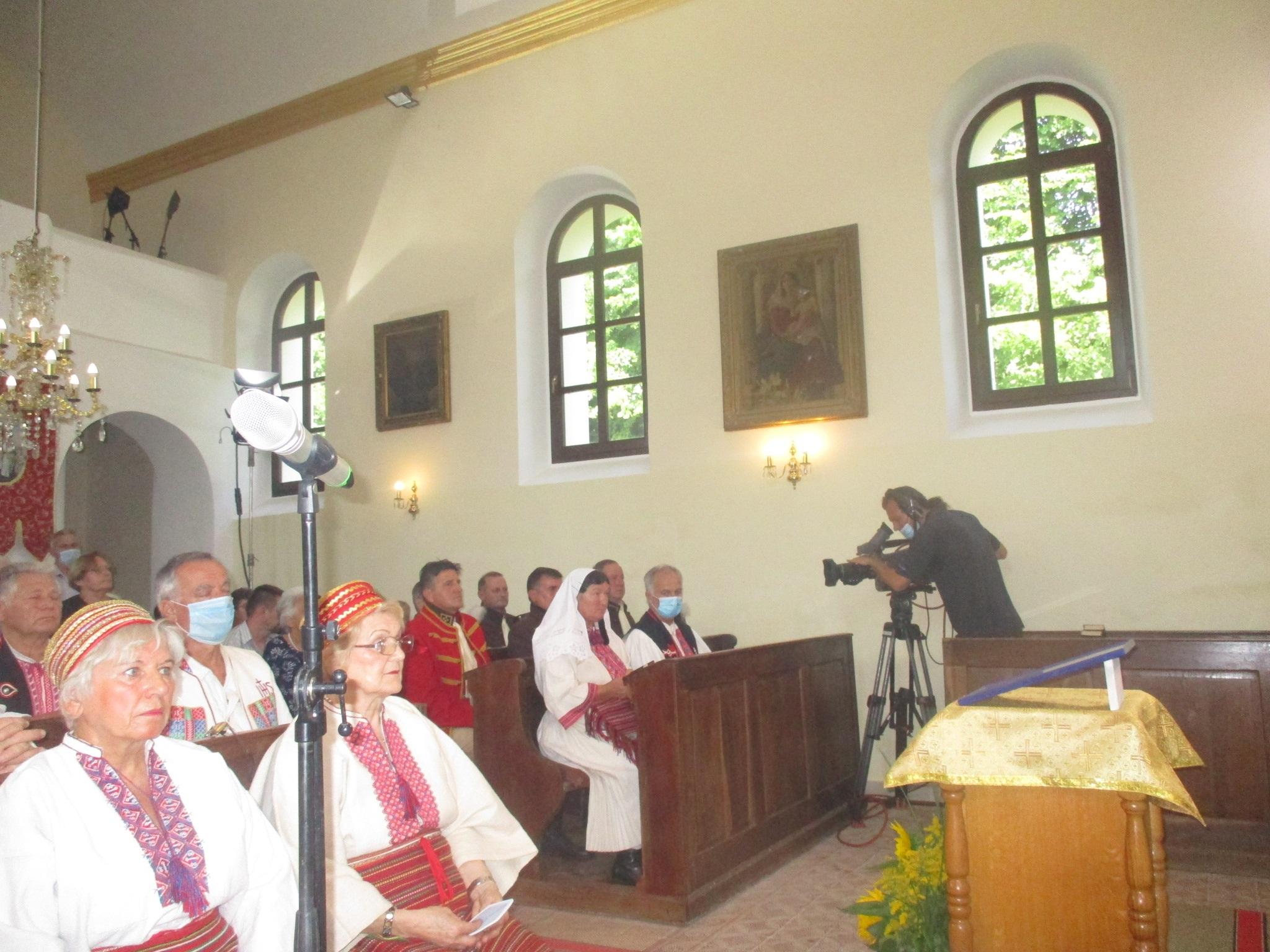 Održan izravan televizijski prijenos svete liturgije iz župe Mrzlo polje