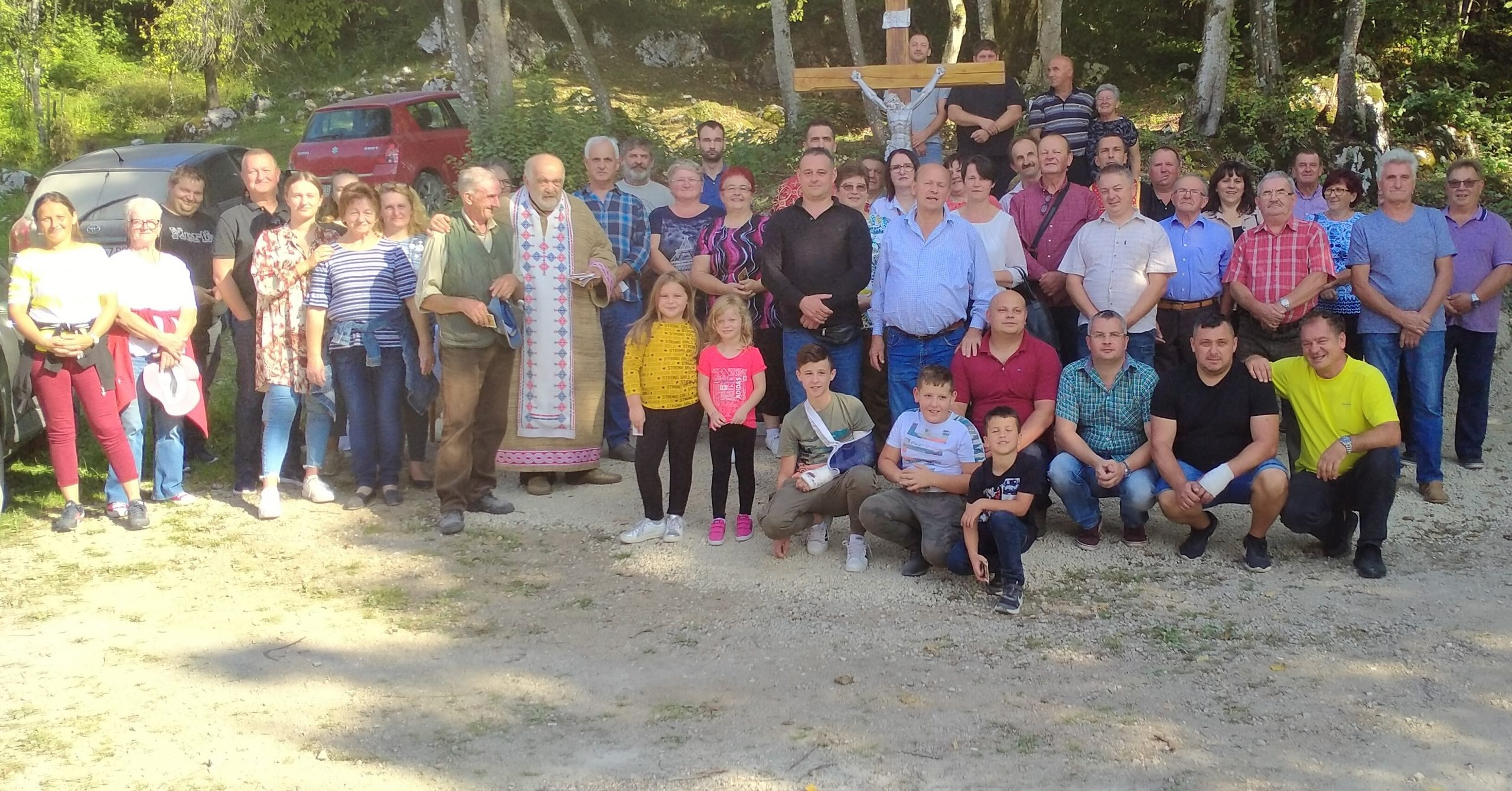 U Kordićima blagoslovljen novi križ