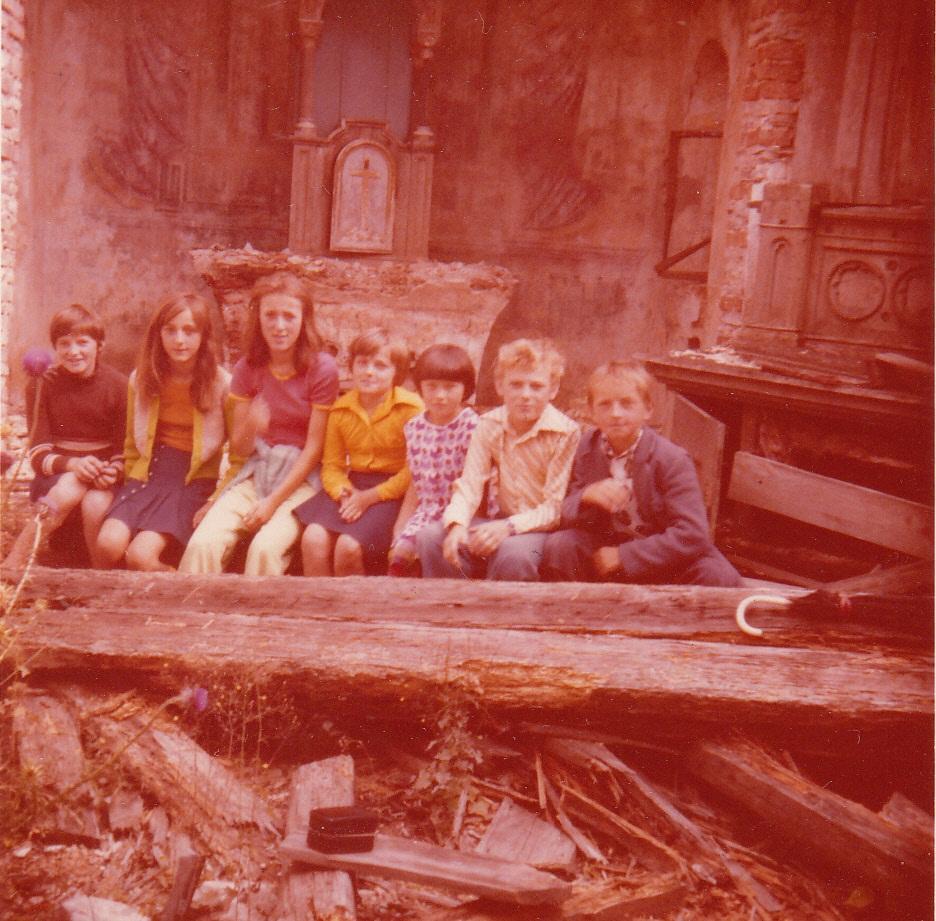 I u razrušenim žumberačkim crkvama održavao se vjerunauk za djecu