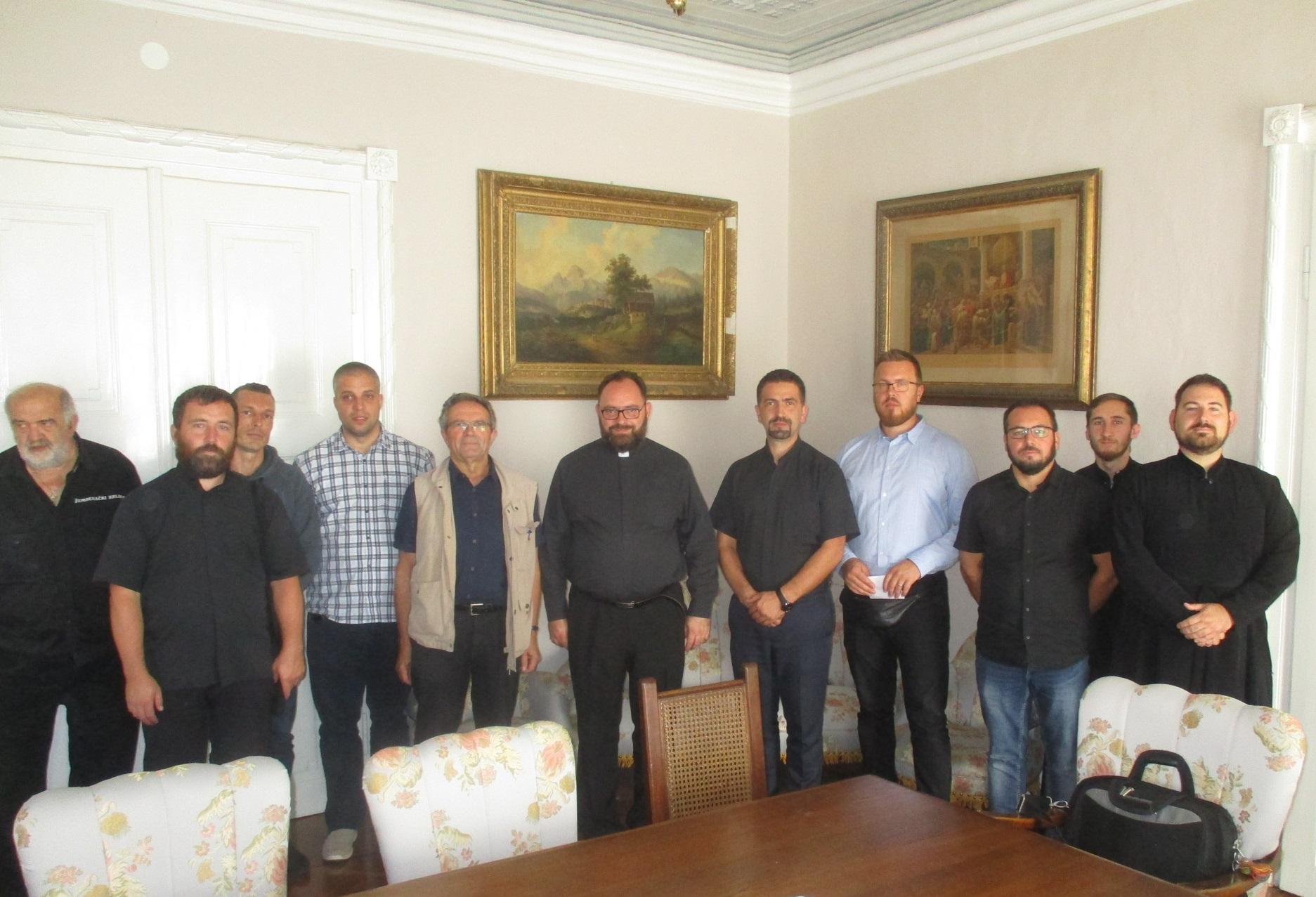 Novoimenovani križevački vladika Milan Stipić s eparhijskim svećenstvom razmotrio plan svečane hirotonije