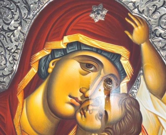 Mirotočiva ikona Presvete Bogorodice