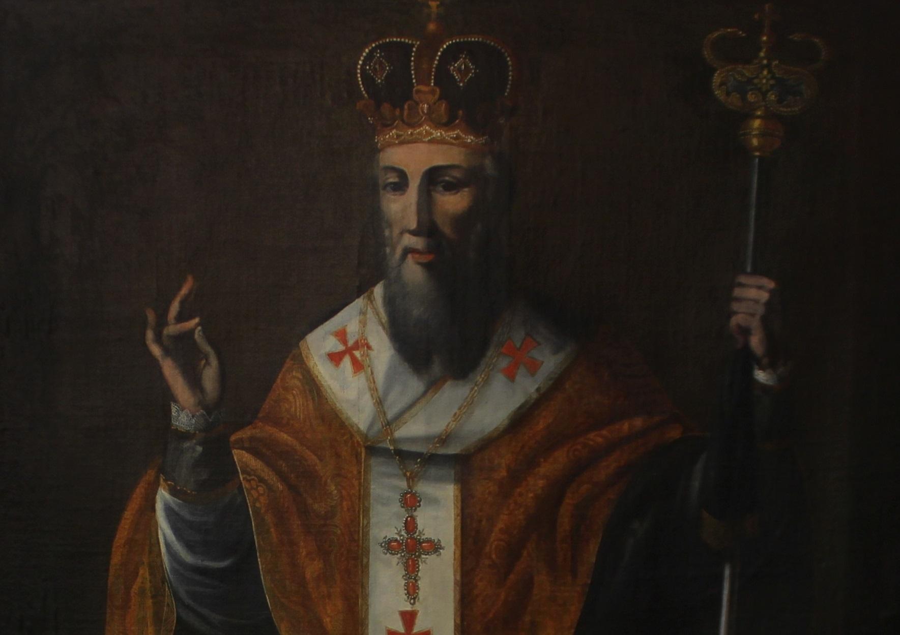 Sveti Bazilije moli od Gospoda mir za našu Domovinu