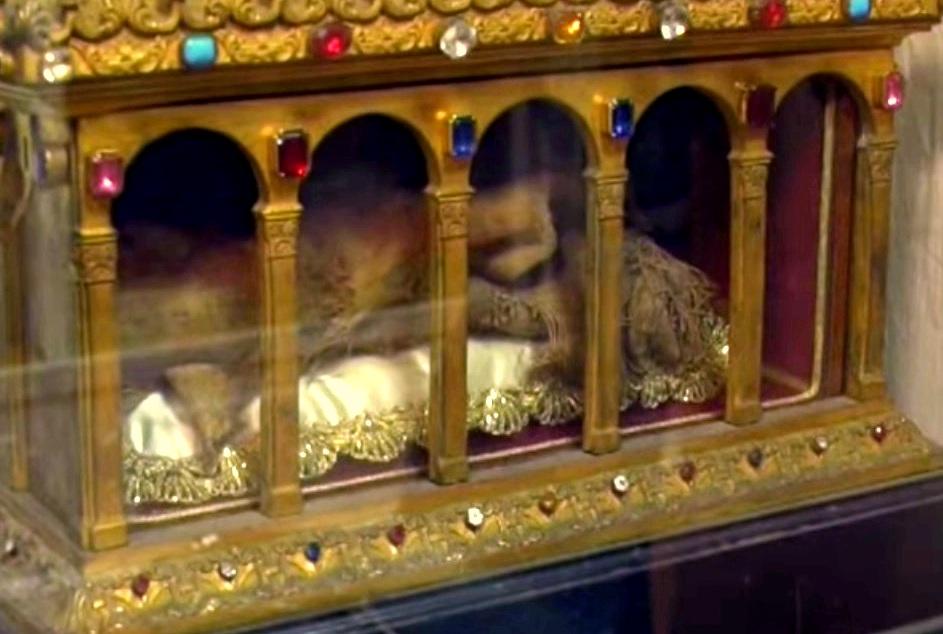U Rimu je do danas ostao sačuvan komadić plašta Svetog Josipa