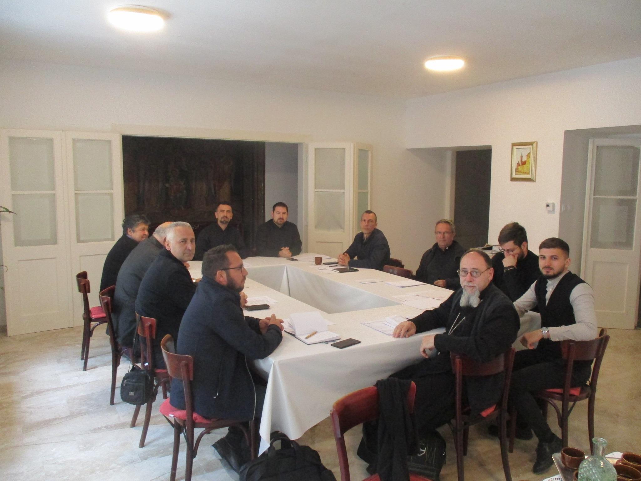 U zagrebačkom Grkokatoličkom sjemeništu održan sastanak svećenika Žumberačkog vikarijata