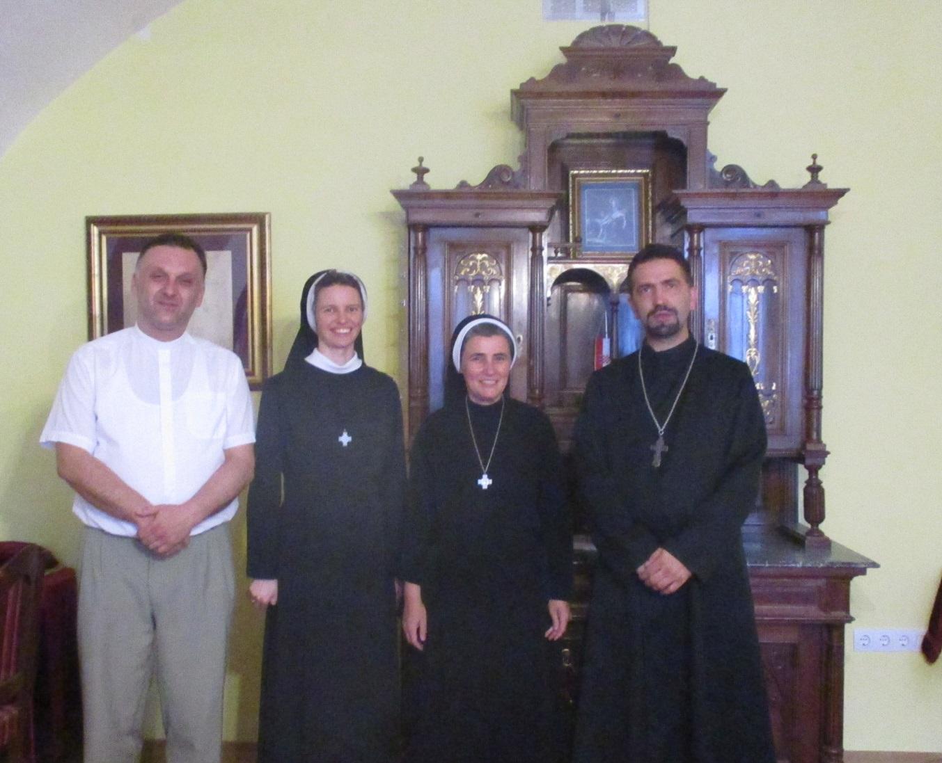 Generalna poglavarica časnih sestara Bazilijanki iz Rima posjetila Grkokatoličko sjemenište